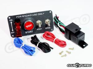 Новое поступление: электрические тумблеры, панели зажигания и отключатели массы
