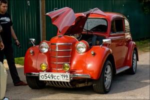 Фоторепортаж: любительское ралли на старинных авто в Подольске
