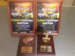 Автомобиль команды Clubrurbo ВАЗ-2108 победил на выставке тюнинга