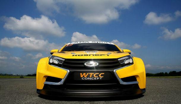 Спортивная LADA Vesta готовится показать всю мощь авто