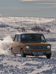 Автоспринт в Магнитогорске: схватка на морозе