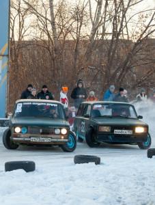 Фоторепортаж: «Зимний дрифт» в Магнитогорске