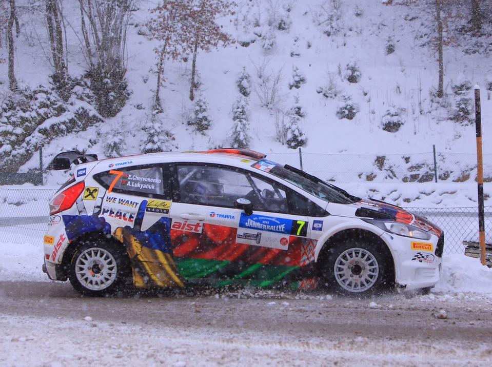 ERC Janner Rallye 2015: Алексей Лукьянюк на подиуме!