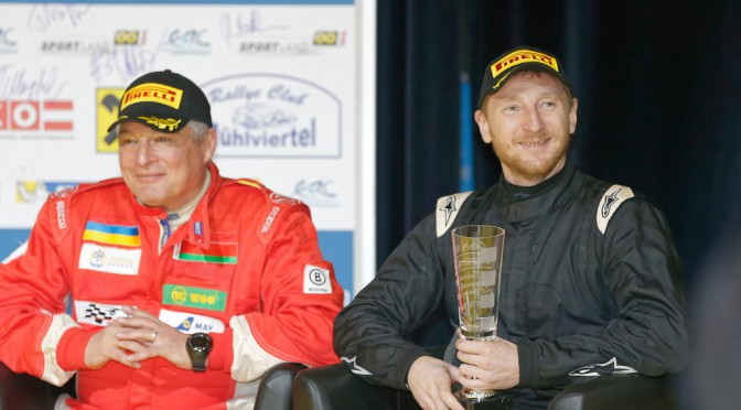 ERC Janner Rallye 2015: Алексей Лукьянюк и Евгений Червоненко на подиуме!