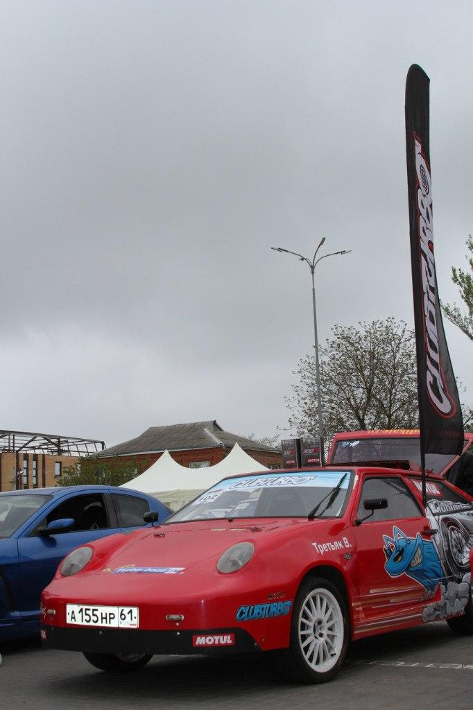 Красная «восьмёрка» Clubturbo заняла I место на выставке тюнинга!