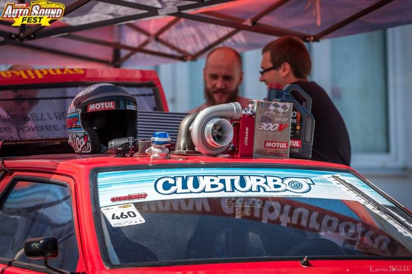 У красной «восьмёрки» Clubturbo – очередная победа!