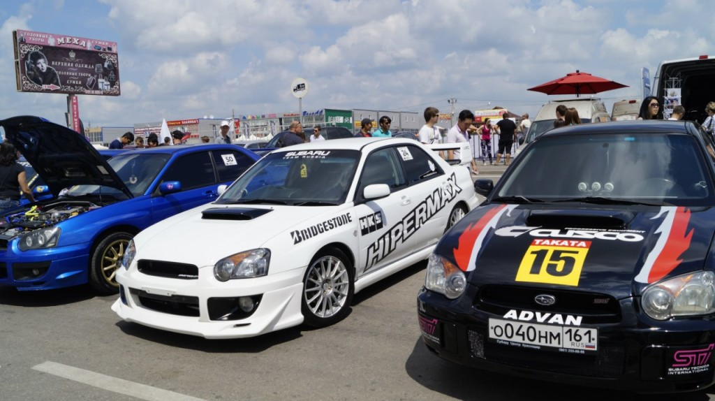 ROSTOV DRIVE SHOW: «Восьмёрка Clubturbo» - лучшая среди отечественных авто!