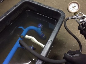 Опрессовка системы охлаждения